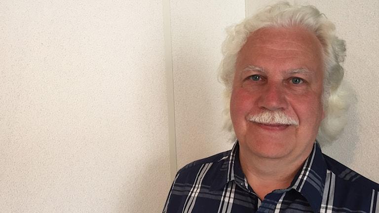 Jan Mårtensson, Krif. Foto: Daniel Kjellander/Sveriges Radio