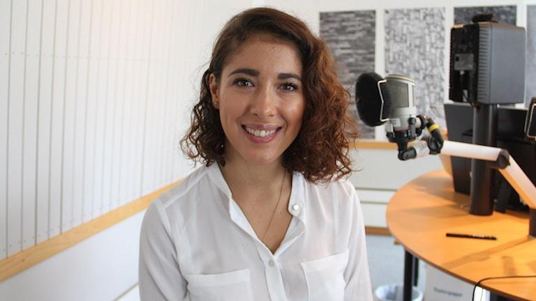 Isabelle Falck. Foto: Ingrid Elfstråhle/Sveriges Radio
