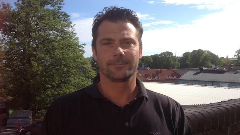 Joakim Håkansson, befälhavare. Foto: Ingrid Elfstråhle/Sveriges Radio