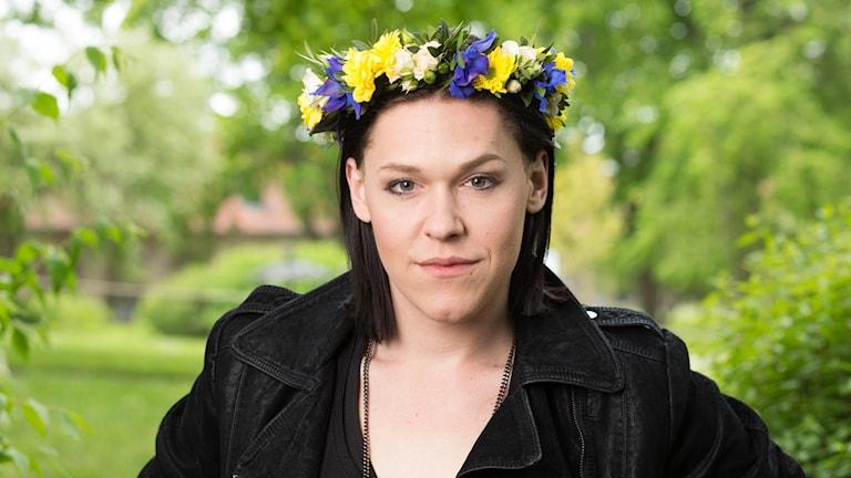 Saga Becker. Foto: Sveriges Radio