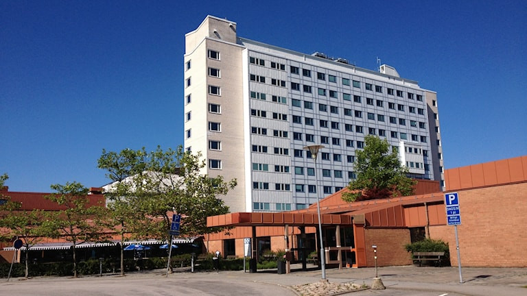 Blekingesjukhuset Karlshamn  Foto: Rebecka Gyllin/Sveriges Radio