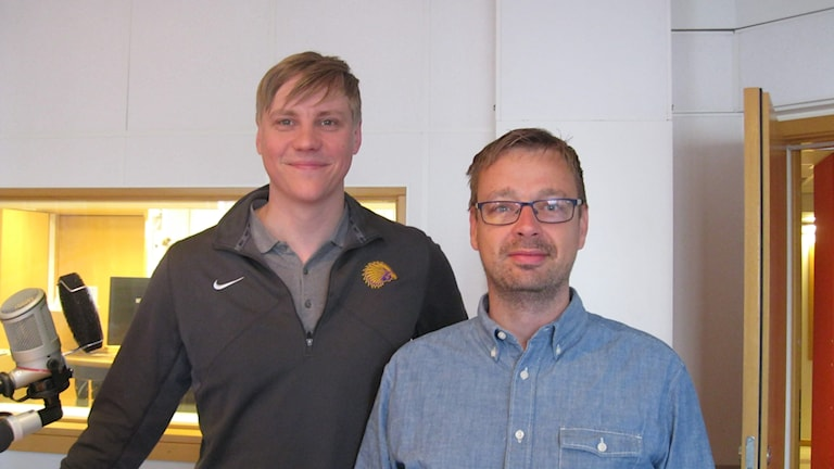 Lars Myrén och Mathias Roos.