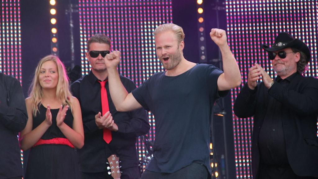 Jens Sporron vinner Svensktoppen Nästa