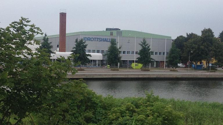 Idrottshallen i Karlskrona. Foto: Johan Svensson/Sveriges Radio