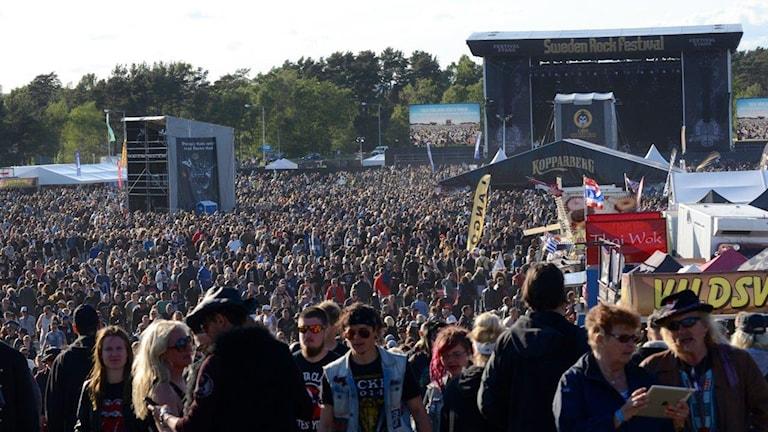 Sweden Rock Foto: Patrik Franke/Sveriges Radio