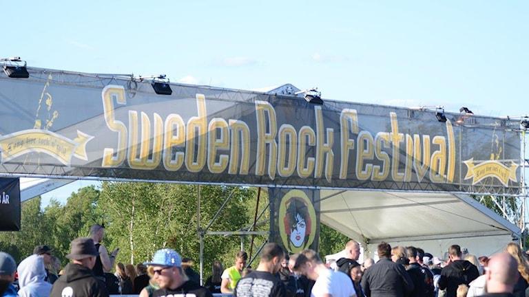 Sweden Rock 2015 Foto: Patrik Franke/Sveriges Radio