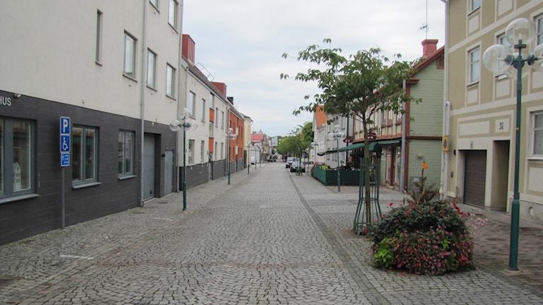 Gågata i Ronneby. Foto: Anton Emanuelsson Vretander /Sveriges Radio