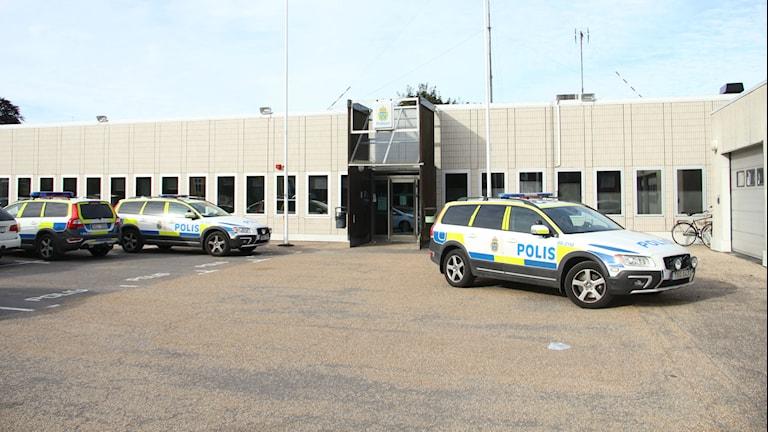Ronneby polisstation. Foto: Mikael Eriksson/Sveriges Radio
