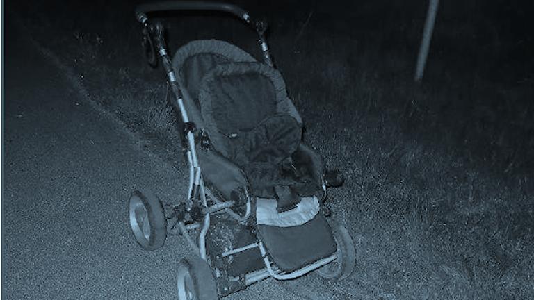 Barnvagnen. Foto: Polisen