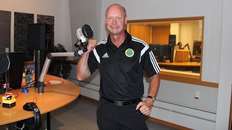 Kenneth Andersson. Foto: Linn Elmstedt/Sveriges Radio