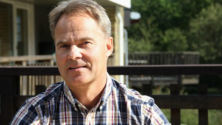 Björn Linge ordförande i FK Karlskrona. Foto: Mikael Eriksson/Sveriges Radio