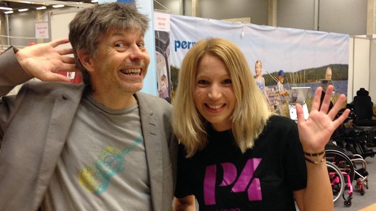 Patrick Franke och Linn Elmstedt