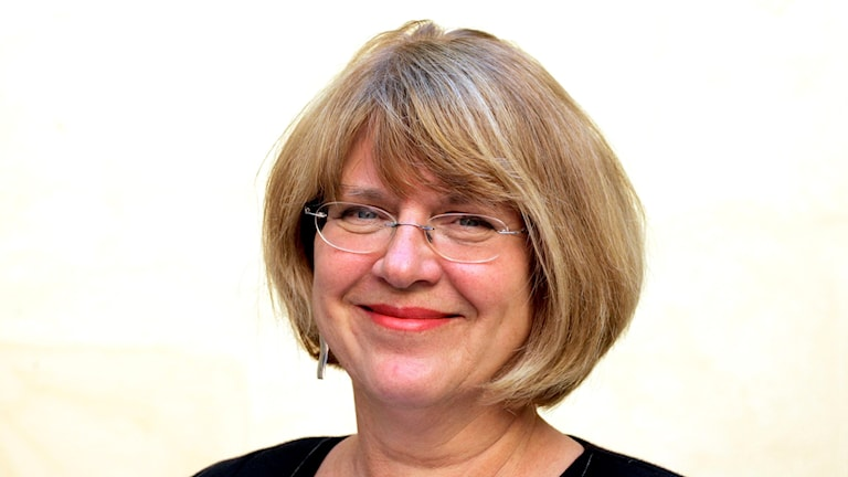 Författaren Katarina Mazetti. Foto: Pontus Lundahl/TT.