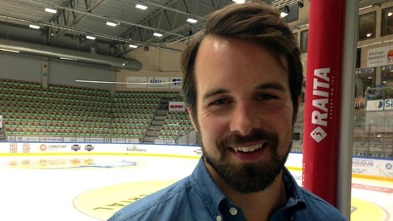 P4 Blekinges nya bloggare Erik Belin. Foto: Helena Gustafsson/Sveriges Radio