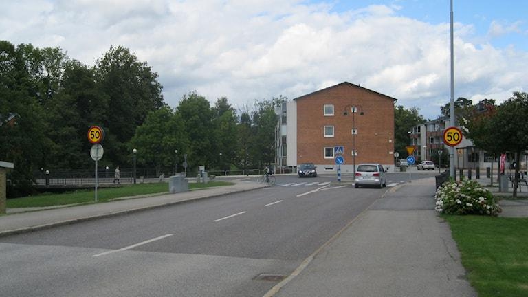 Olofström exteriör. Foto: Carina Melin/Sveriges Radio