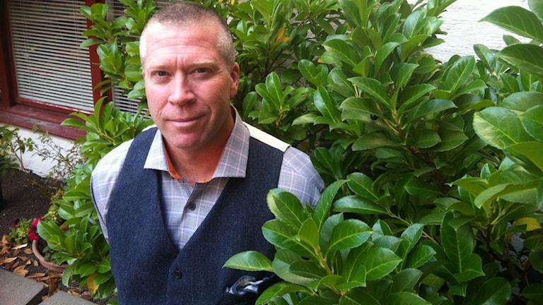 Claes Wiridén chef för funktionsstödsförvaltningen i Karlskrona. Foto: Carina Melin/Sveriges Radio