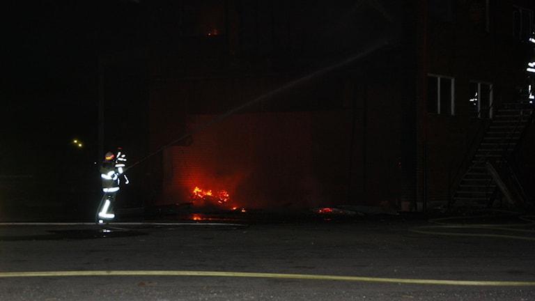 Brand i Bräkne Hoby