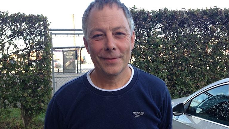 Billy Åkerström (KD), gruppledare för Kristdemokraterna i Karlskrona.  Foto: Johan Svensson/ Sveriges Radio