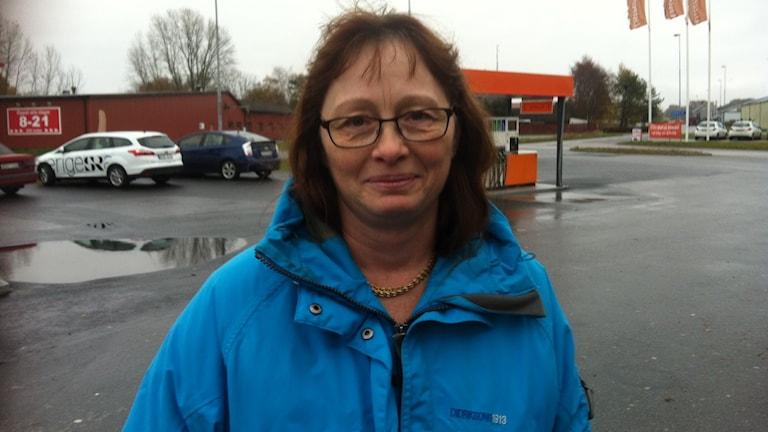Susann Svensson Mjällby. Foto: Carina Melin/Sveriges Radio