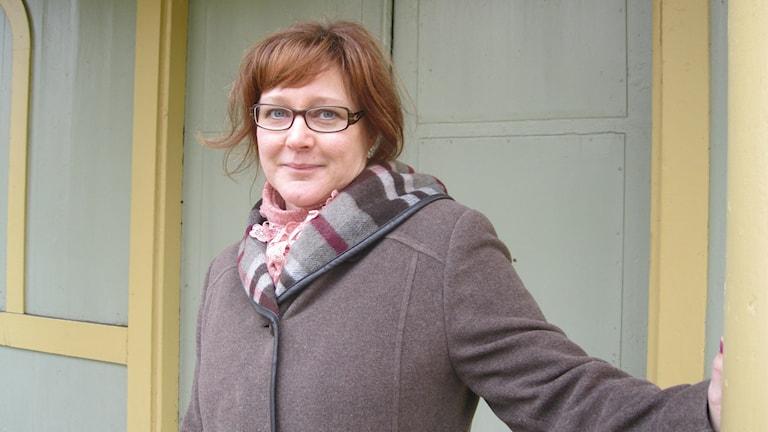 Marie Karlsson miljöinspektör i Karlskrona. Foto: Carina Melin/Svergies Radio