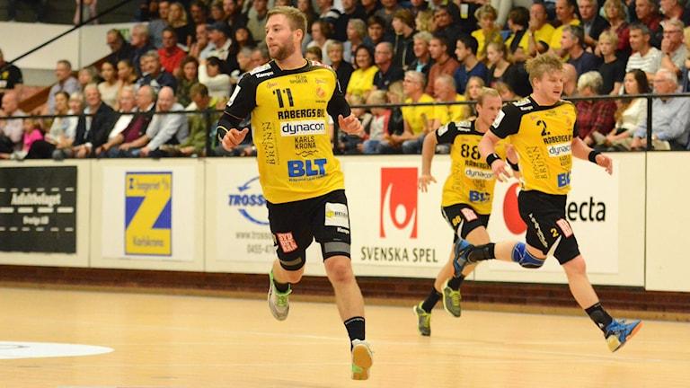 Johannes Sandgren stod för 6 mål mot IFK Kristianstad. Foto:Oscar Anderberg