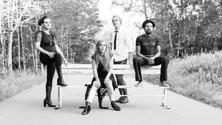 Billie The Vision And The Dancers. Foto: Kristina Malmqvist.