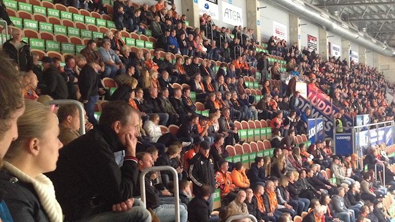 Karlskrona HK har haft sämre publiksiffran än väntat. Foto: Johan Svensson/ Sveriges Radio