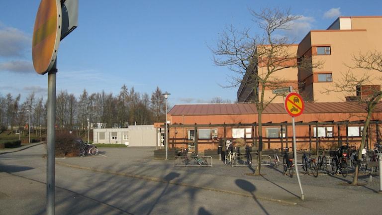 Blekingesjukhuset Karlshamn plats för ny lokal för psykiatri västra Blekinge. Foto: Carina Melin/Sveriges Radio Blekinge