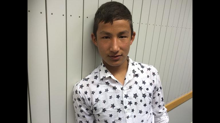Flykten till Sverige tog 45 dagar för 13-åringen Jawiel Yagobi.