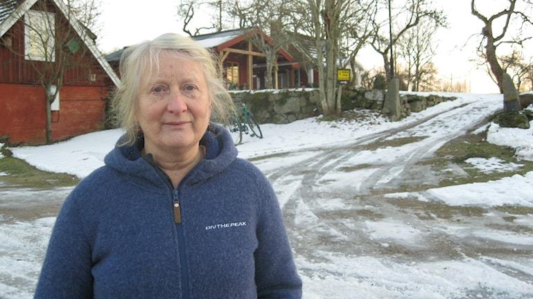 Karen Friberg N Stensjö Nävragöl. Foto: Carina Melin/Sveriges Radio