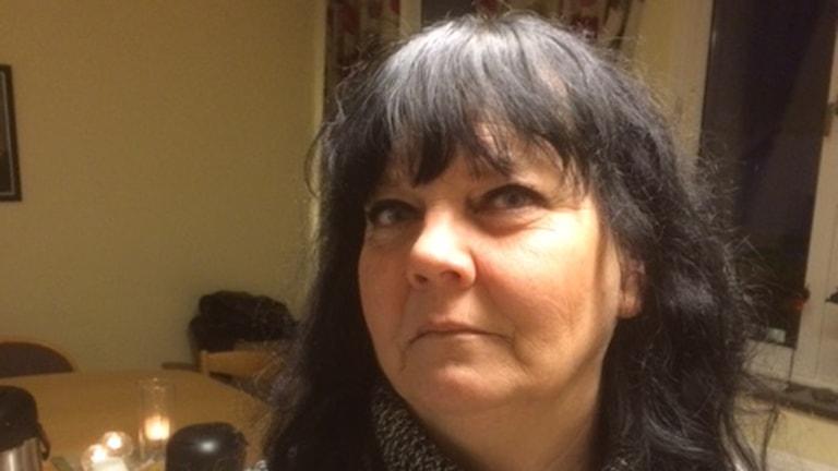 Maria Wanner är Kommunals ordförande i Karlskrona. Foto: Henrik Olsson/P4 Blekinge.