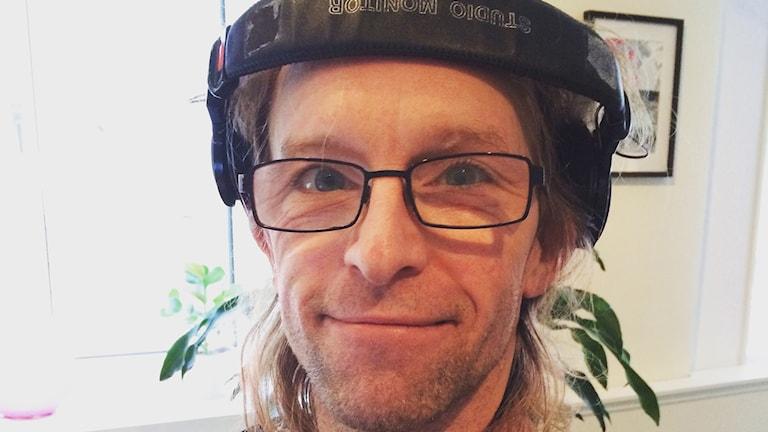 En porträttbild på Joacim Müllo, programledare på P4 Blekinge.