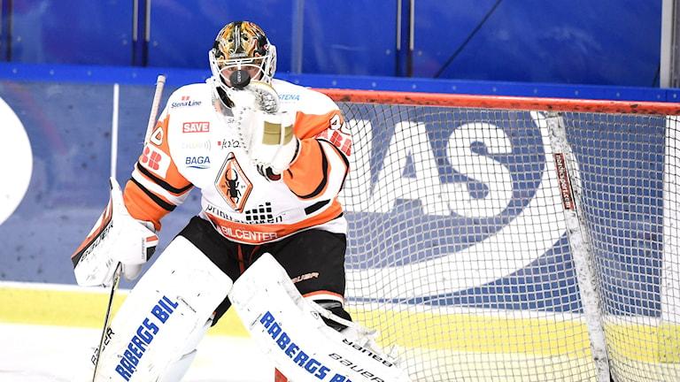 Karlskrona KHs Johan Holmqvist. Foto: Mikael Fritzon / TT.