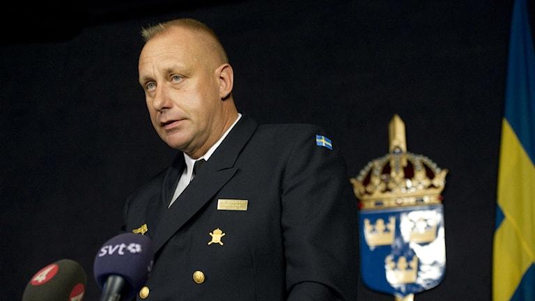 Marinchef Jan Thörnqvist. Foto: Fredrik Sandberg/TT