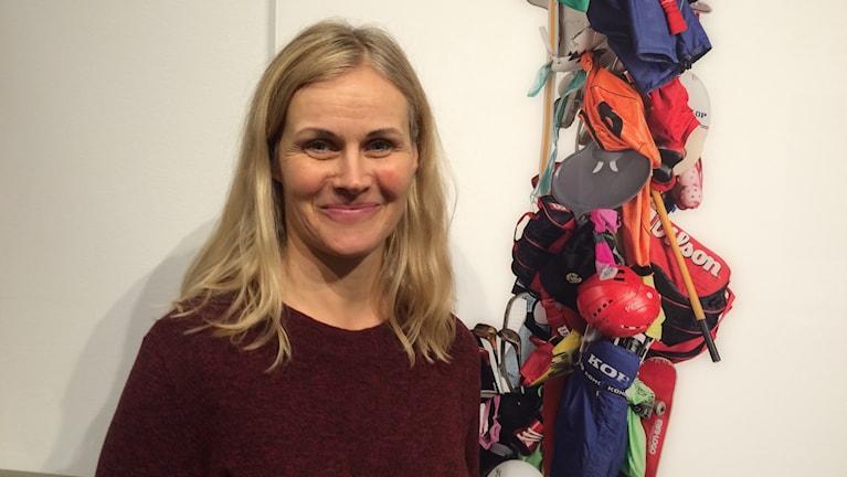 En porträttbild på Maria Friberg. Foto: Lena König/Sveriges Radio