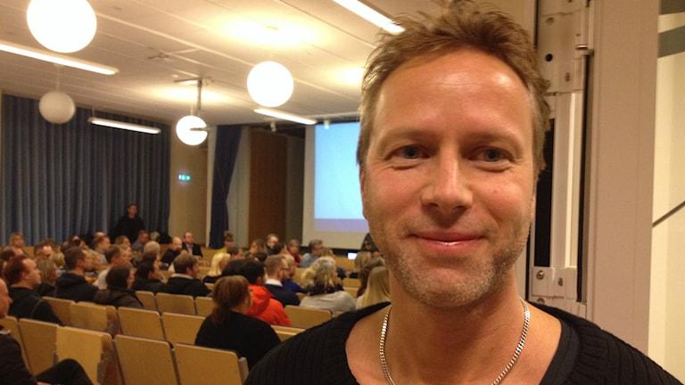 Fredrik Glimsjö, lärare och förälder, var nöjd med Karlskrona kommuns besked om LKC.
