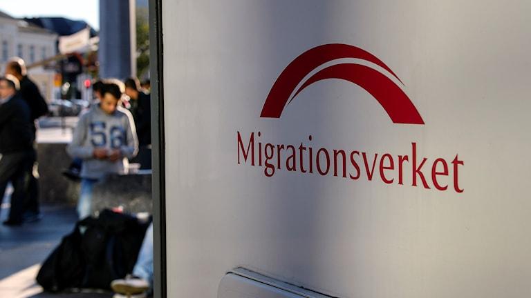 Migrationserkets skylt