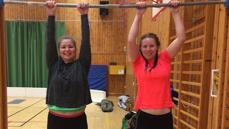 Felicia Antonsson och Vera Fredriksson