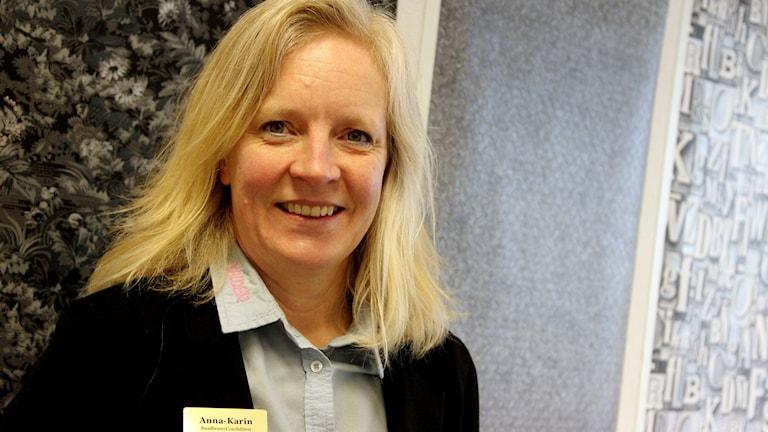 Anna-Karin Svensson, som bor i Attanäs utanför Jämjö.