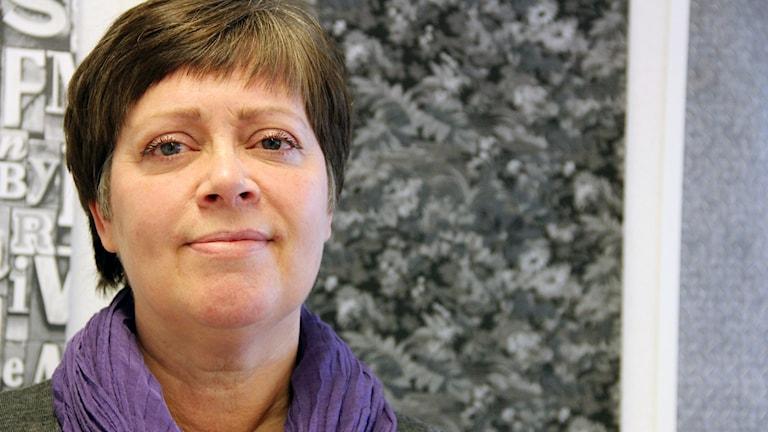 En porträttbild på Ulla Hannu.