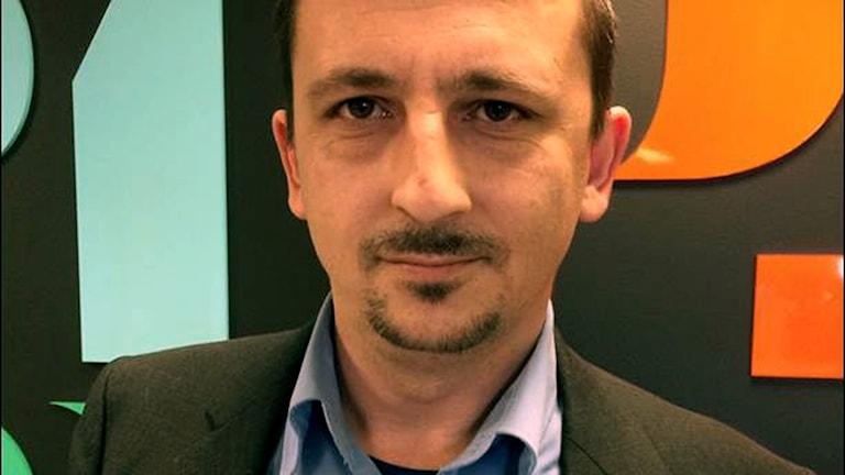 En porträttbild på Edvin Rahmanovic.