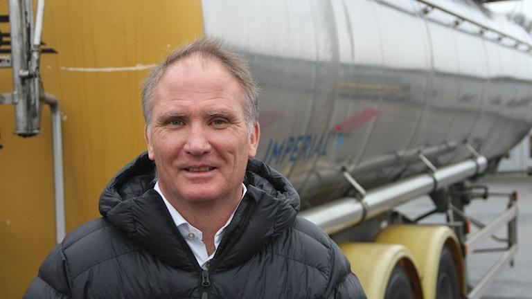 Tomas Petersson vd på Foodtankers i Karlshamn.