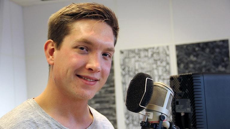 herman Ottosson i studion.
