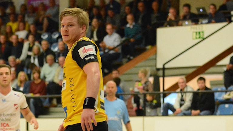 HIF Karlskronas lagkapten Gustav Samuelsson