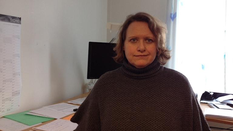 Camilla Gärdebring, chef för omsorgsförvaltningen i Karlshamn.