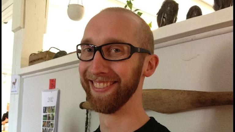 Filip Wennerlund medverkar i tv-serien Tro, hopp och kärlek i SVT.