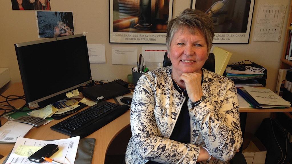Ulla Ståhl, rektor på Sunnadalsskolan i Karlskrona,