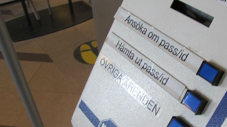 Än så länge behöver man inte boka tid för att göra pass i Karlskrona.