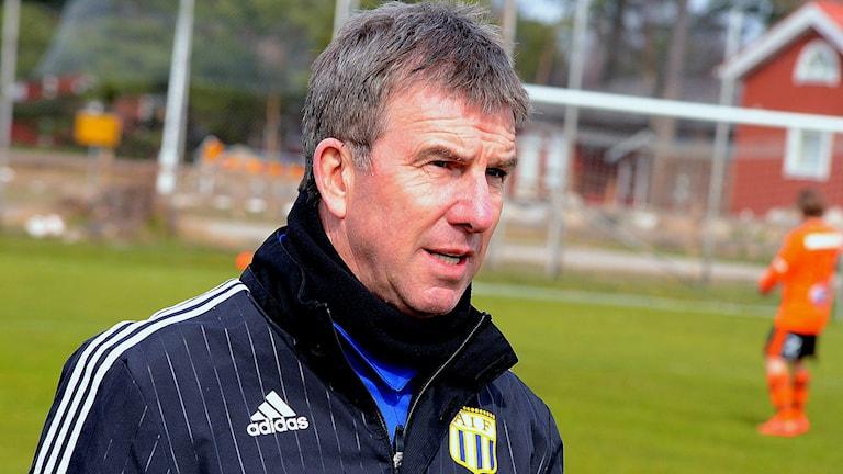 Paul Scott, tränare för Asarum