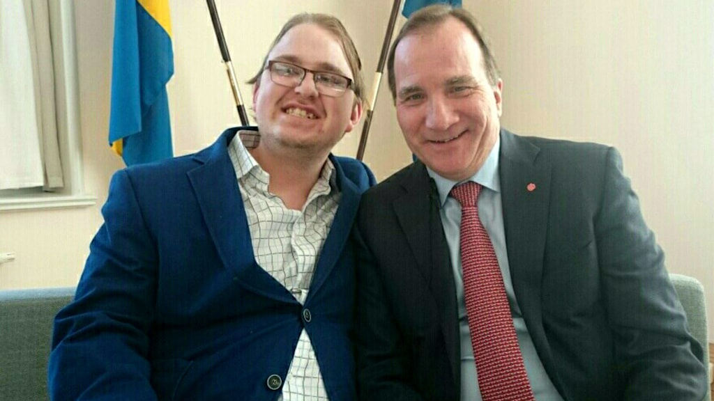 Linus Karlsson och Stefan Löfvén